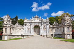 Dolmabahce Palace at Istanbul Turkey Stock Images