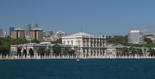 Dolmabahce Palace in Istanbul, Turkey Stock Images