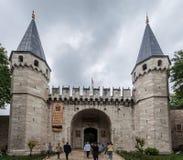 Dolmabahce Palace Istanbul Turkey Stock Image
