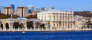 Dolmabahce Palace Royalty Free Stock Photos