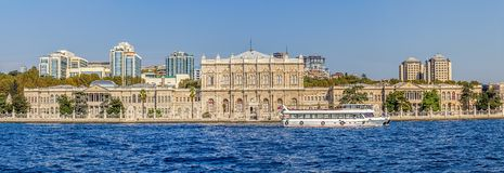 Dolmabahce palace Royalty Free Stock Image