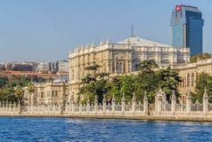 Dolmabahce palace Stock Image