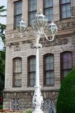 Dolmabahce palace lamp in Istanbul Stock Photo