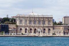 Dolmabahce Palast Stockfoto
