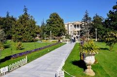 Dolmabahce-Palast stockfotografie