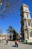 Dolmabahce-Palast lizenzfreie stockfotografie