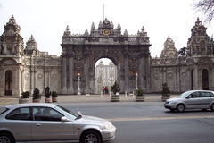 Dolmabahce palast Royalty Free Stock Photo