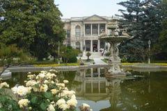Dolmabahce Palast Lizenzfreies Stockfoto
