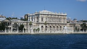 Dolmabahce-Palast, besiktas, Istanbul, Truthahn lizenzfreie stockfotos