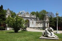 Dolmabahce Palast in Istanbul Stockfotografie