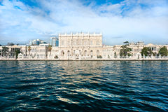 Dolmabahce Palast, Istanbul, die Türkei. stockfotografie
