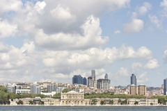 Dolmabahce Palast, Istanbul, die Türkei stockfoto