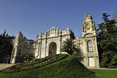 Dolmabahce Palast, Istanbul, die Türkei Lizenzfreie Stockfotos
