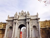 Dolmabahce Sarayi Royalty Free Stock Photography