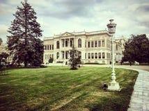 Dolmabahce sarayi istanbul arkivbilder