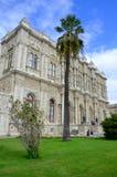 Dolmabahce slott Arkivfoto