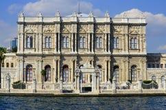 Dolmabahce slott Arkivbilder