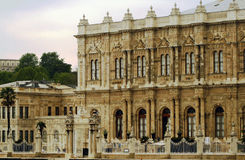 Dolmabahce slott Royaltyfria Bilder