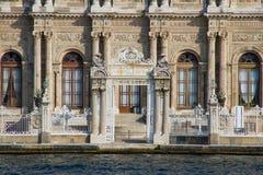 Dolmabahce slott Royaltyfri Foto