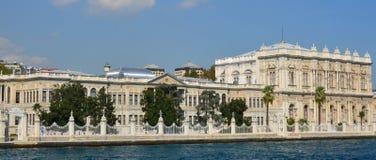 Dolmabahce slott Arkivfoton