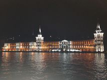 Dolmabahce slott, Istambul, Turkiet Royaltyfria Bilder