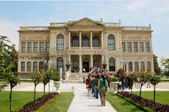Dolmabahce slott på Maj 12, Fotografering för Bildbyråer