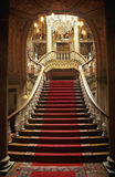 Dolmabahce stairs royalty free stock images