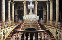 Dolmabahce stairs Royalty Free Stock Photography