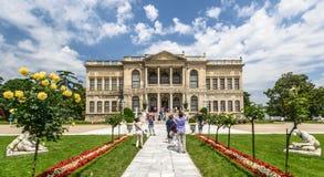 Dolmabahche slott, Istanbul, Turkiet Royaltyfria Foton