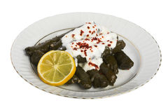 Dolmas with clipping path Stock Photo