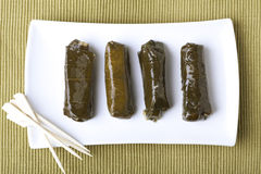 Dolmas from Directly Above Royalty Free Stock Photos