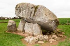 dolmen Ирландия brownshill стоковая фотография