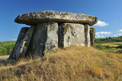 Dolmen. An 6000 year old dolmen Stock Photo