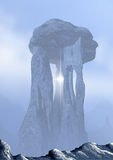 Dolmen. Fantastic building of enormous size Royalty Free Stock Images