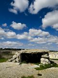 Dolmen. A dolmen from Southern Italy (Lecce Stock Images