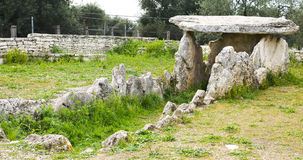 Dolmen Bisceglie préhistorique Image libre de droits