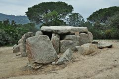 Dolmen Ca l Arenes Royalty Free Stock Photo