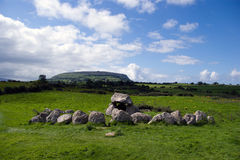 Dolmen in Carrowmore Royalty Free Stock Photo