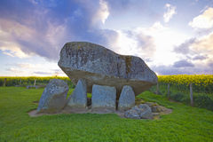 Dolmen de Brownshill Photos stock