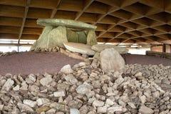 Dolmen DE Dombate, Galicië, Spanje royalty-vrije stock foto's