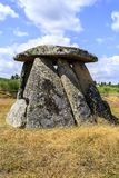 Dolmen DE Matanca of Dolmen van Slachting stock afbeeldingen