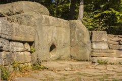 Dolmen, de Noord-Kaukasus, Rusland Stock Afbeelding