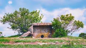 Dolmen de Noord- van de Kaukasus Stock Foto