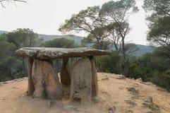 Dolmen de Pedra Gentil lizenzfreies stockbild