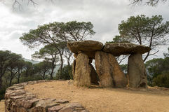 Dolmen de Pedra Gentil Photos stock