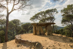 Dolmen DE Pedra Gentil Royalty-vrije Stock Foto