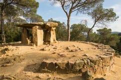 Dolmen DE Pedra Gentil Royalty-vrije Stock Afbeelding