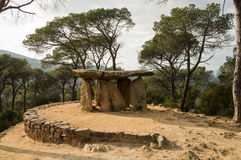 Dolmen de Pedra Gentil stockfotografie