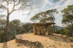 Dolmen de Pedra Gentil stockfotos