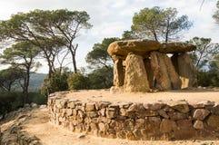 Dolmen de Pedra Gentil stockbilder